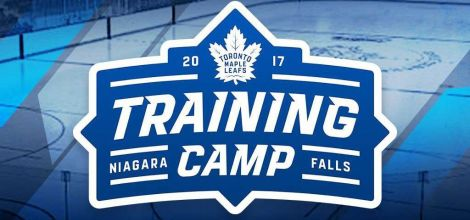 Toronto Maple Leafs Training Camp in Niagara Falls