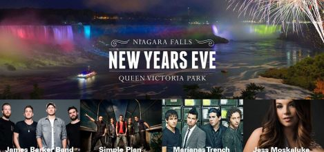 Juno-Winning Rockers Marianas Trench Headlines Niagara Falls New Year's Eve Show 2017