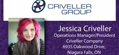 Jessica Criveller, Operations Manager & President - Criveller Company