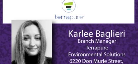 Karlee Baglieri, Branch Manager - Terrapure Environmental Solutions