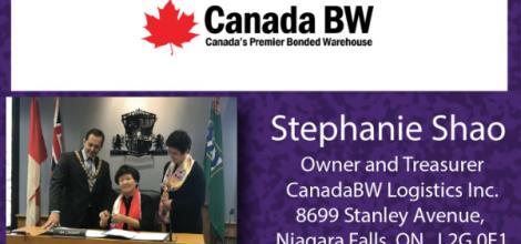 Stephanie Shao, Owner - CanadaBW Logistics Inc.