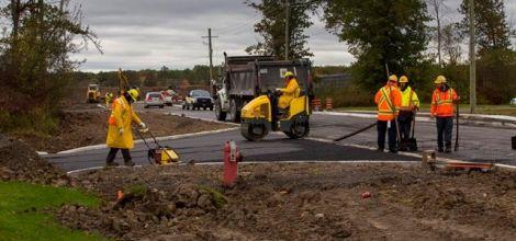 Montrose Business Park Construction Nears Completion