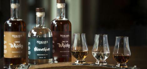 Niagara Distillery Officially Opens on Clifton Hill