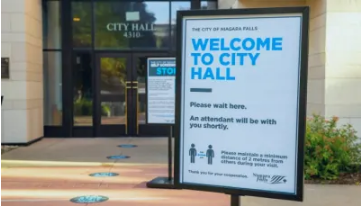 City Hall Now Open for By - Appointment Only Services