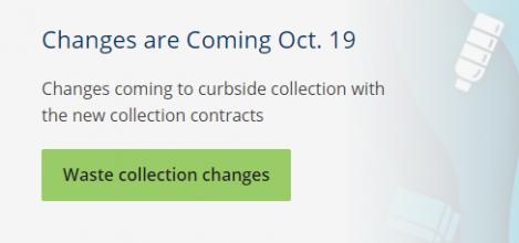 Niagara Region Waste Collection Services Update