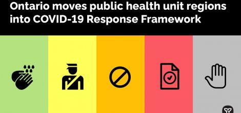 Ontario Updating COVID-19 Response Framework to Help Stop the Spread of COVID-19