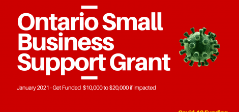 Ontario Small Business Grant Opens